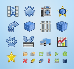 Data Academy Interface Icons